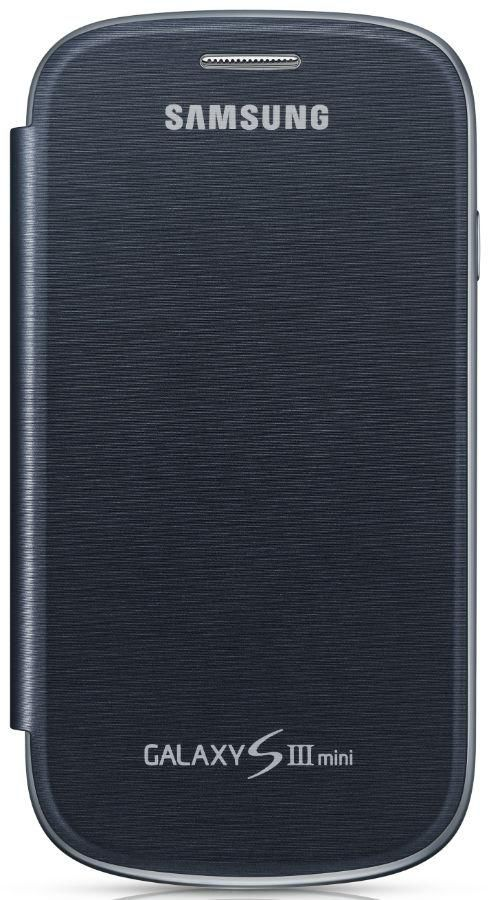 Чехол (флип-кейс) SAMSUNG EFC-1M7FBE, для Samsung Galaxy S III mini, темно-синий [efc-1m7fbegser]