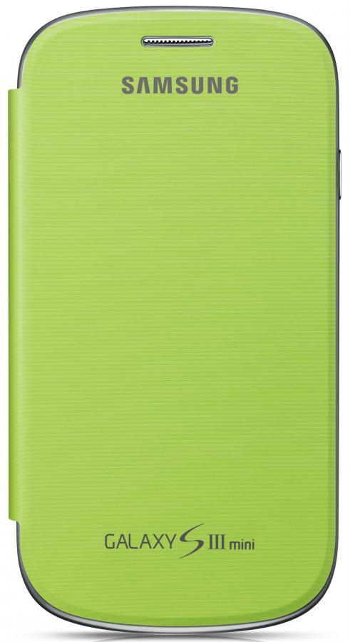 Чехол (флип-кейс) SAMSUNG EFC-1M7FME, для Samsung Galaxy S III mini, зеленый [efc-1m7fmegser]
