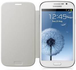 Чехол (флип-кейс) SAMSUNG EF-FI908BWE, для Samsung Galaxy Grand, белый [ef-fi908bwegru]