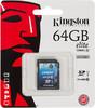 Карта памяти SDXC UHS-I KINGSTON Elite 64 ГБ, 30 МБ/с, Class 10, SD10G3/64GB,  1 шт. вид 1