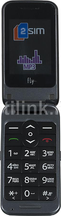 Мобильный телефон FLY Ezzy Trendy черный
