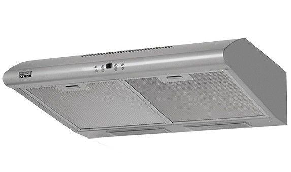 Вытяжка козырьковая Krona Luci 500 3P нержавеющая сталь управление: кнопочное (1 мотор) [4260185861490]