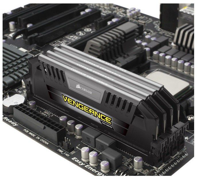 Модуль памяти CORSAIR Vengeance Pro CMY32GX3M4A2133C11 DDR3 -  4x 8Гб 2133, DIMM,  Ret