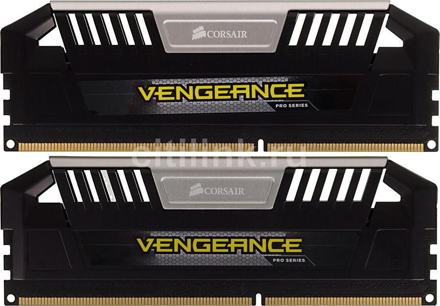 Модуль памяти CORSAIR Vengeance Pro CMY8GX3M2A2133C11 DDR3 -  2x 4Гб 2133, DIMM,  Ret