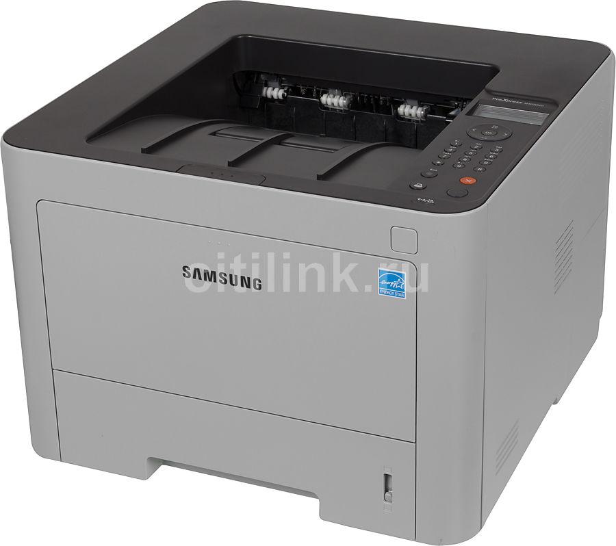 Принтер лазерный SAMSUNG SL-M4020ND/XEV лазерный, цвет:  белый