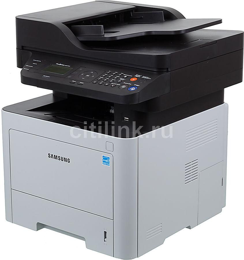 МФУ SAMSUNG SL-M3870FD/XEV,  A4,  лазерный,  белый