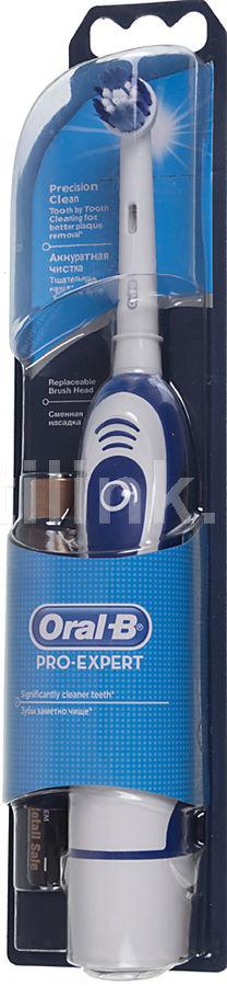 Электрическая зубная щетка ORAL-B на батарейках Precision Clean DB4  Pro-Expert белый eadb2ea12757f