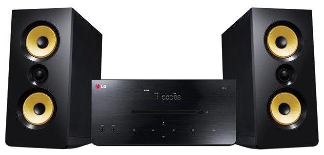 Музыкальный центр LG DM2630K,  черный
