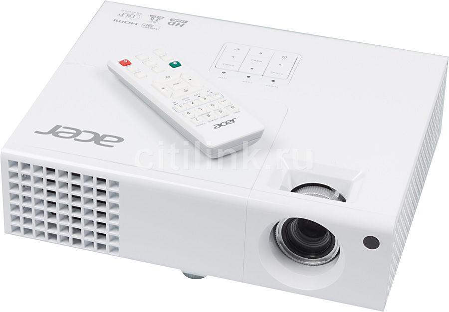 Проектор ACER X1340WH белый [mr.jf411.00l]