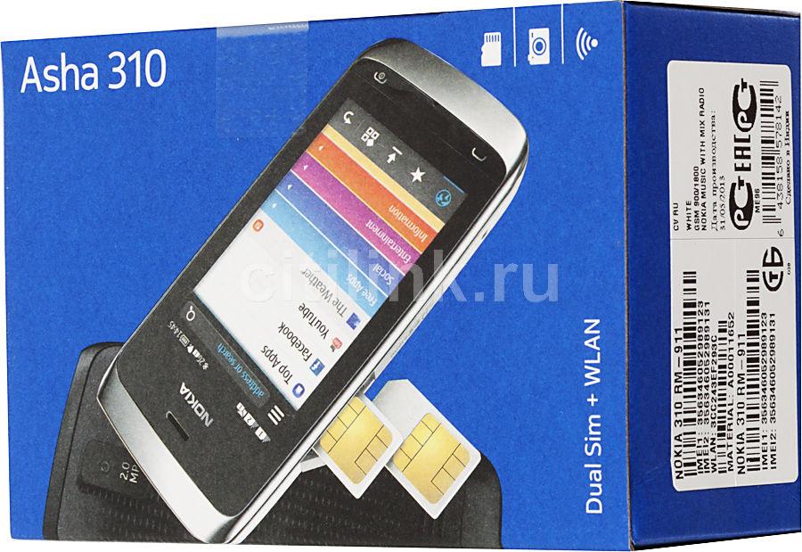 Купить Сотовый телефон Nokia 310 черный в интернет магазине DNS ... | 619x900