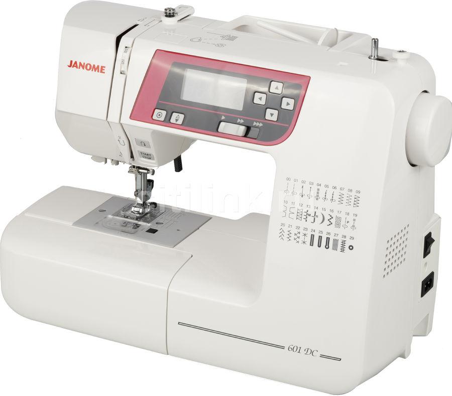 Швейная машина JANOME 601DC белый