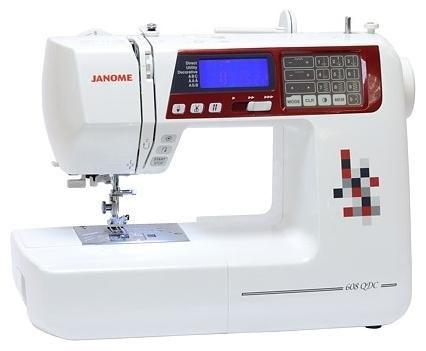 Швейная машина JANOME 608QDC белый