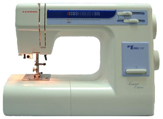 Швейная машина JANOME My Excel 18W белый