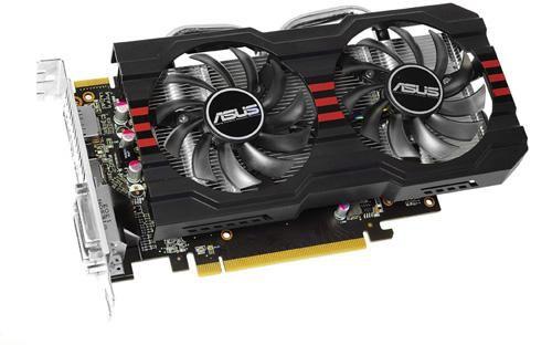 Видеокарта ASUS Radeon HD 7790,  2Гб, GDDR5, OC,  Ret [hd7790-dc2oc-2gd5]