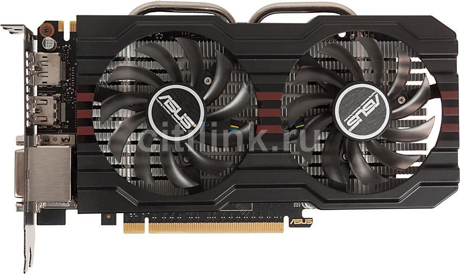 Видеокарта ASUS nVidia  GeForce GTX 660 ,  GTX660-DC2OCPH-2GD5,  2Гб, GDDR5, OC,  Ret