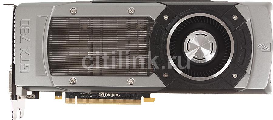 Видеокарта ASUS nVidia  GeForce GTX 780 ,  3Гб, GDDR5, Ret [gtx780-3gd5]