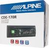 Автомагнитола ALPINE CDE-170R,  USB вид 5