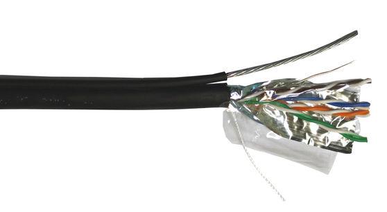 Кабель информ. Lanmaster (TWT-5EFTP-OUT-TR) кат.5е F/UTP 4X2X24AWG PE внеш. 305м черн.