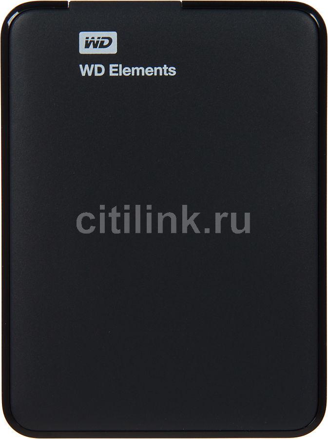 Внешний жесткий диск WD Elements Portable WDBU6Y0020BBK-EESN, 2Тб, черный