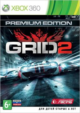 Игра SOFT CLUB GRID 2. Premium edition для  Xbox360 Rus (документация)