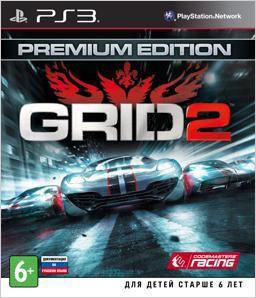 Игра SONY GRID 2. Premium edition для  PlayStation3 Rus (документация)