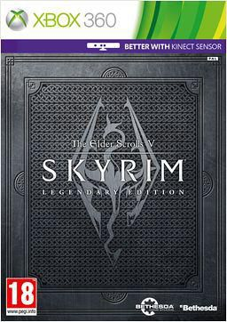 Игра SOFT CLUB Elder Scrolls V: Skyrim Legendary Edition для  Xbox360 Eng
