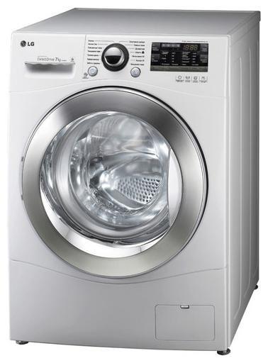Стиральная машина LG F10A8HDS, фронтальная загрузка,  белый