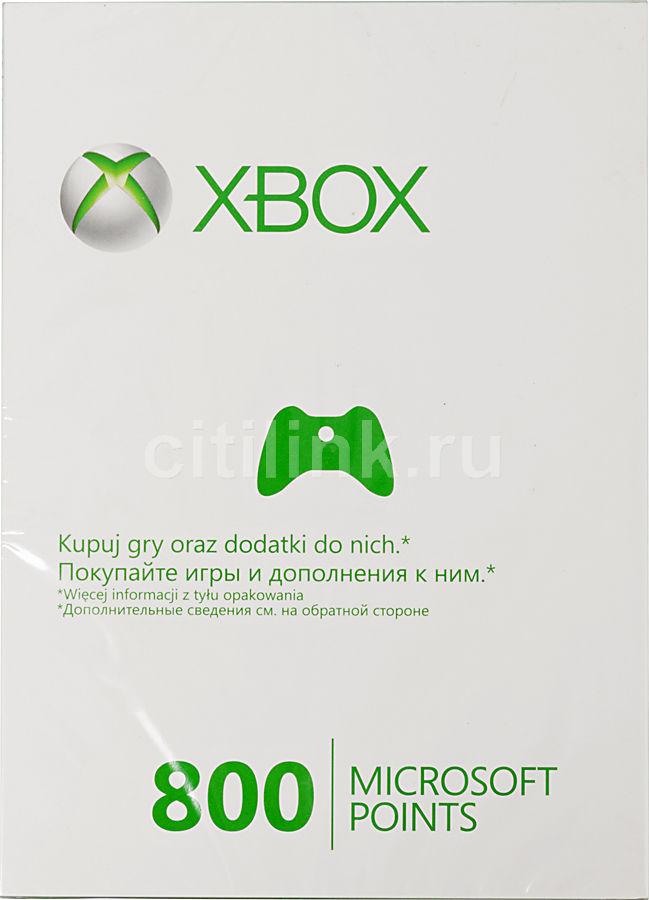 Карта оплаты MICROSOFT Xbox 360 [56p-00477]