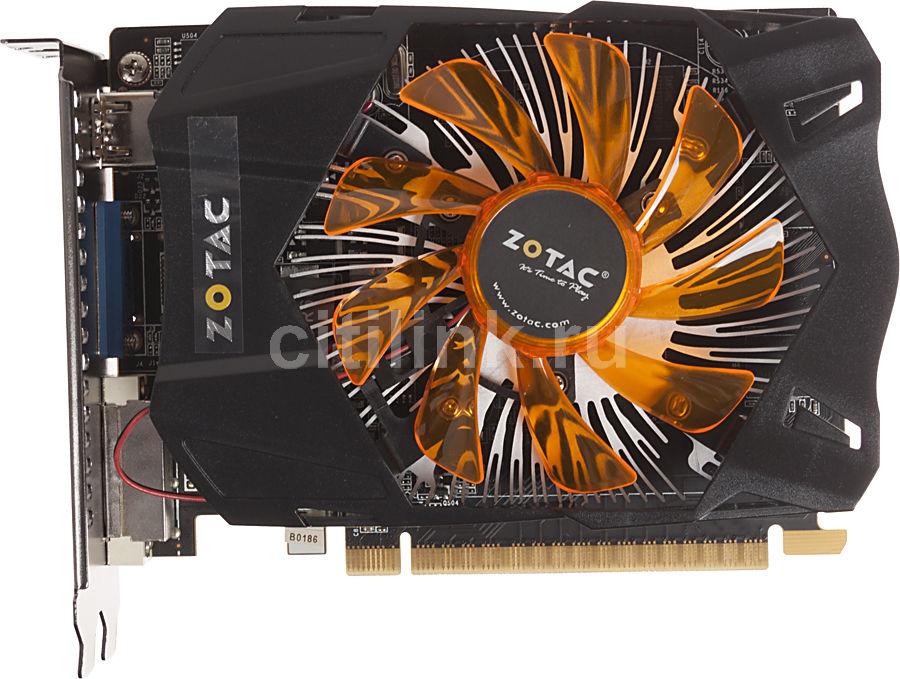 Видеокарта ZOTAC GeForce GTX 650,  1Гб, GDDR5, Ret [zt-61012-10m]