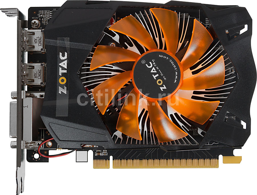 Видеокарта ZOTAC GeForce GTX 650,  2Гб, GDDR5, Ret [zt-61010-10m]