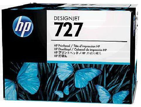 Печатающая головка HP 727 многоцветный [b3p06a]
