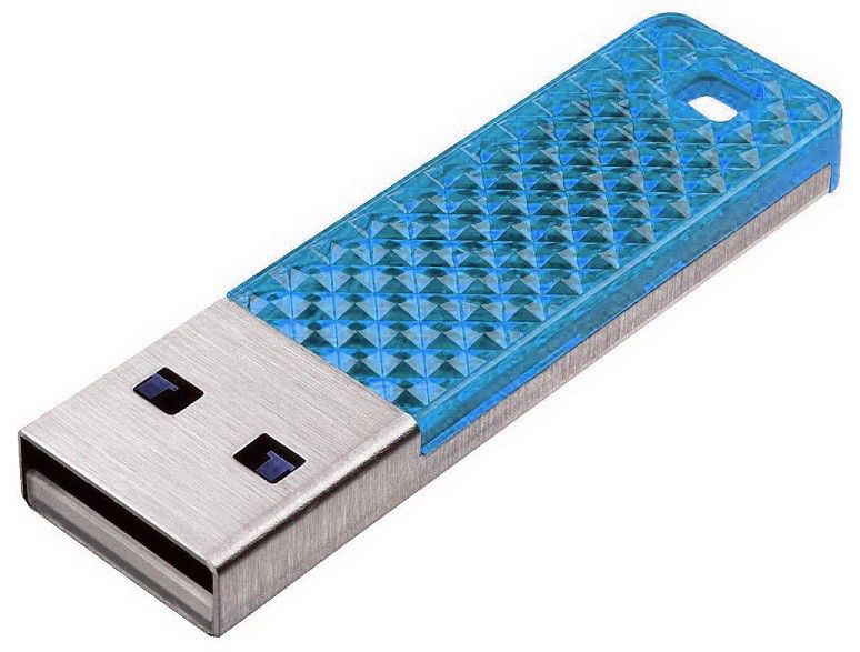 Флешка USB SANDISK Cruzer Facet 8Гб, USB2.0, голубой [sdcz55-008g-b35be]