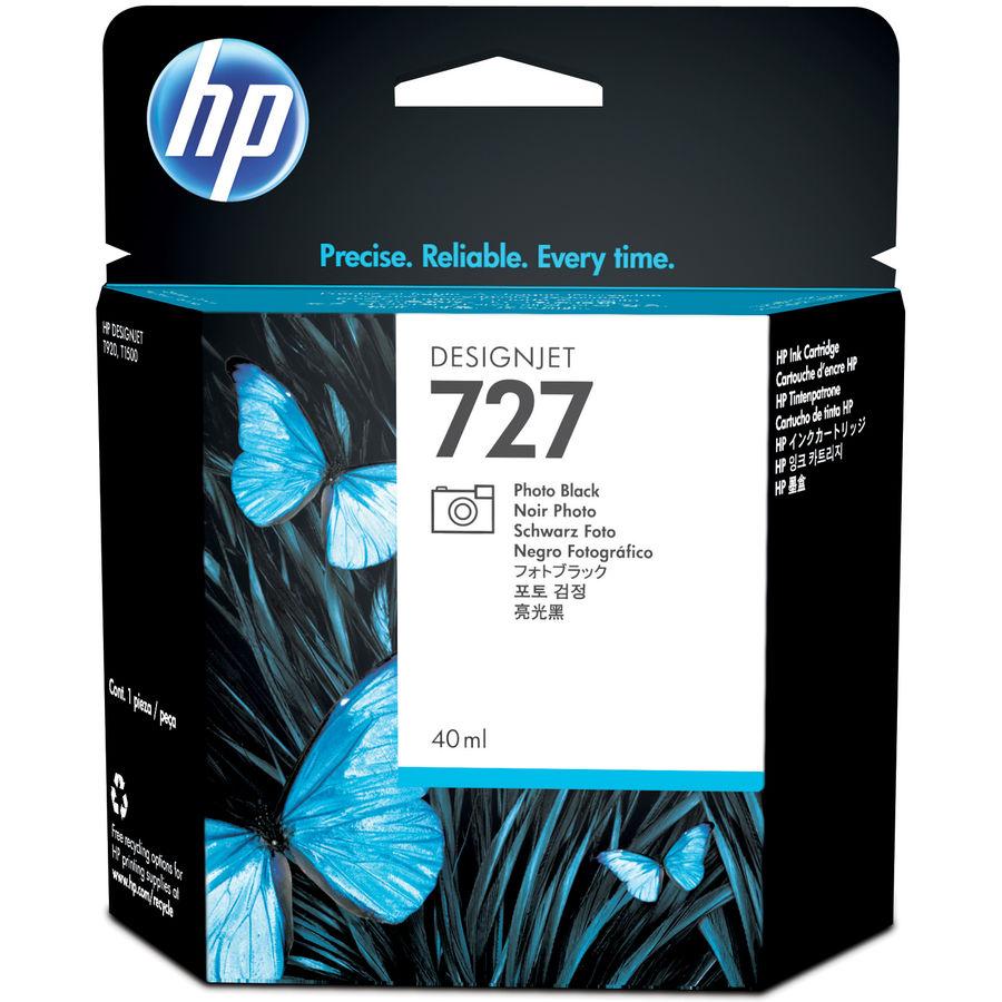 Картридж HP 727 фото черный [b3p17a]