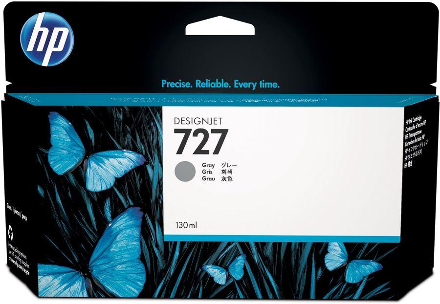 Картридж HP 727 B3P24A,  серый