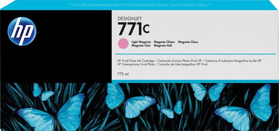Картридж HP 771C светло-пурпурный [b6y11a]