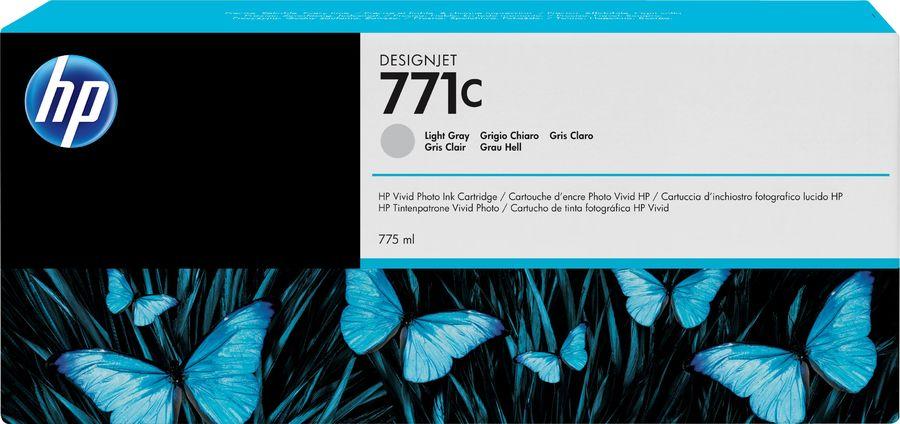 Картридж HP №771C B6Y14A,  светло-серый