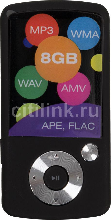 MP3 плеер DIGMA B2 flash 8Гб черный [b2-8-bk]