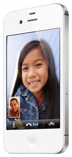Смартфон APPLE iPhone 4 MD198/MD197  8Gb, белый