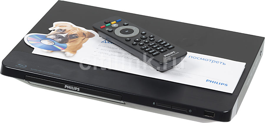 Плеер Blu-ray PHILIPS BDP2100/51, черный