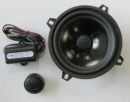 Колонки автомобильные DLS M5/5Mk4,  компонентные,  80Вт