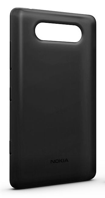 Чехол (клип-кейс) NOKIA CC-3041, для Nokia Lumia 820, черный