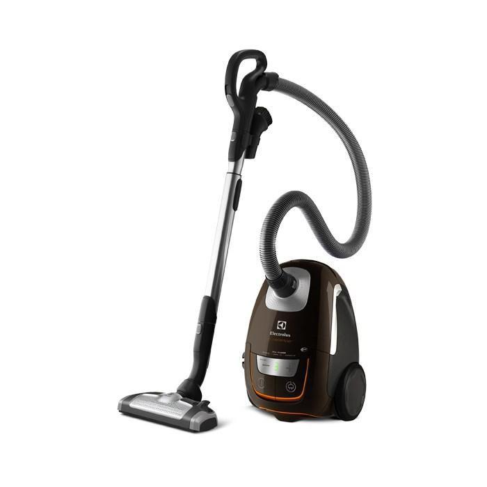 Пылесос ELECTROLUX UltraSilencer USALLFLOOR, 1800Вт, коричневый