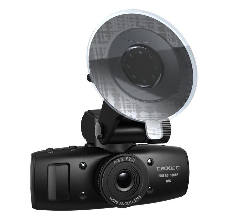 Видеорегистратор TEXET DVR-1GP черный