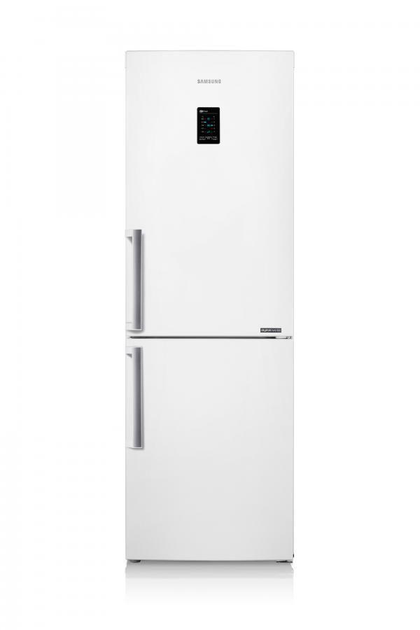 Холодильник SAMSUNG RB28FEJNCWW/RS,  двухкамерный,  белый
