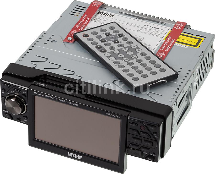 Автомагнитола MYSTERY MMD-4308N,  USB,  SD/MMC