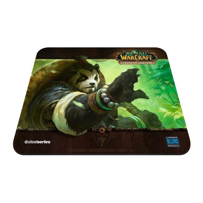 Коврик для мыши STEELSERIES QcK WOW Mists Panda Forest edition рисунок/черный [67261]