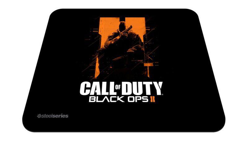 Коврик для мыши STEELSERIES QcK COD Black Ops II O.S. черный/рисунок [67264]