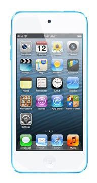 MP3 плеер APPLE iPod touch 5 flash 32Гб голубой [md717ru/a]