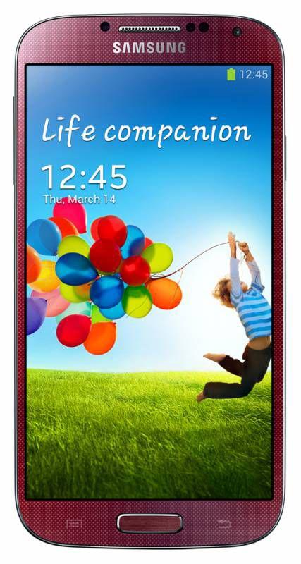 Смартфон SAMSUNG Galaxy S4 GT-I9505  16Gb, красный