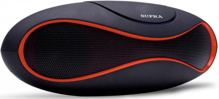 Аудиомагнитола SUPRA BTS-553,  красный